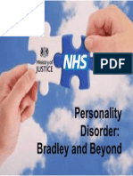 Personality Disorder Bradley and Beyond