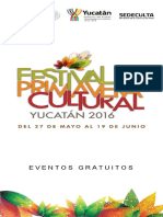 Festival de la Primavera Cultural 2016