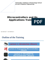Microcontrollers Applications Training L1