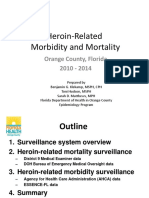 Heroin-Related Morbidity and Mortality  by Florida Health Orange County