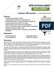 Ups St2424 Ubnt Spec Sheet