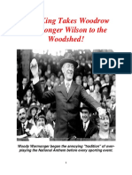 Woodrow Warmonger Wilson