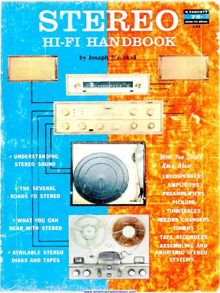 Hi Fi Handbook No 1 Gramophone Record Loudspeaker Bird Whistle Electronic Circuit Diagram Audio Pre Lifier