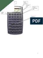 HP 10 B Student Handount
