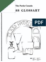 Glass Glossary