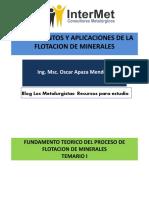 i - Fundamento Teorico y Mecanismos de Flotacion