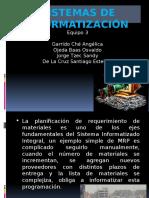 Sistemas de Informatización