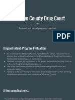 culminating project - whatcom county drug court