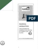 Manual Operativo Sierra Selva Alta