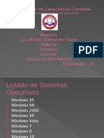 Requerimientos de Windows