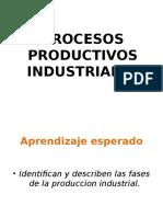 Procesos productivos industriales