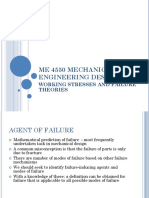 Working Stresses and Failure Theories