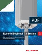 Remote Electrical Tilt System - KATHREIN