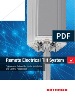 Remote Electrical Tilt System - KATHREIN