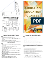 Christian Education Brochure