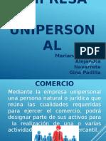 EMPRESA UNIPERSONAL.pptx