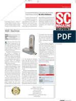 SC Magazine Reviews VME Bio Drive