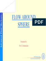 Flow Around Sphere
