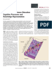 Using Texts in Science Education -- Cognitive Processes and Knowledge Representation
