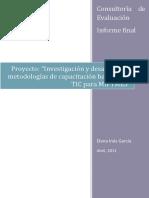 Evaluacion Informe final