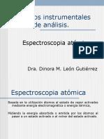 espectrofotometría atómica