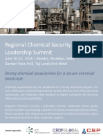 Regional Chemical Security Leadership Summit June 20-22