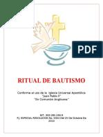 Ritual de Bautismo