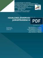 ExPosicion, IGUALDAD DIVERSIDAD Y JURISPRUDENCIA