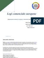 Legi comenciale europene