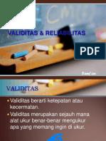 validitas-reliabilitas