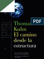 El Camino Desde La Estructura_Kuhn