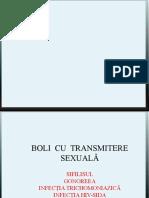 Boli Cu Transmitere Sexuala - Sifilis, Gonoree, Infectia Trichomoniazica, Infectiile Cu Chlamidii Si Mycoplasme, Infectia HIV-SIDA (1) (Copy)