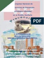 II CONGRESO NACIONAL SERVICIO DE PREVENCION