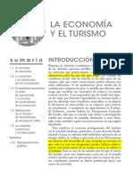 1. La Economía y El Turismo