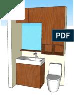 Modelo Mueble Baño