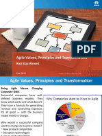 Agile Values Principles and Transformation Razi