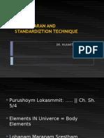 Bhasma Standardization