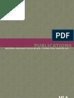 Spring 2010–Winter 2011 Catalog