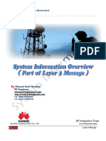 System Information Overview