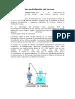 Método de Obtención Del Metano