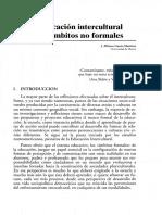 10 - La Educación Intercultural en Los Ámbitos No Formales