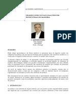 ESPECIFICIDADES E RISCOS DAS LIGAÇÕES EM ESTRUTURAS DE MADEIRA