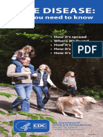 Lyme Disease Brochure