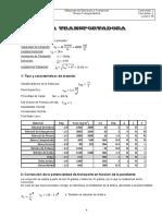 Cálculo Rosca Transportadora