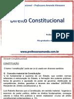 Direito Constitucional – Professora Amanda Almozara