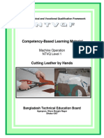 Module Cut Leather by Hands Footwear Leathergoods Level 1