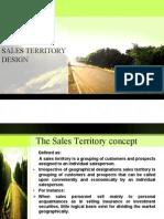 Sales Territory Design