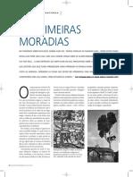 Artigo_As Primeiras Moradias