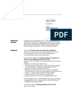 Richard Ellson Resume - 5.13.16
