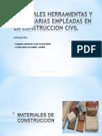Materiales, Herramientas y Maquinarias